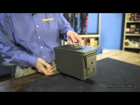 Policestore - Brownells 50 Cal Ammo Can