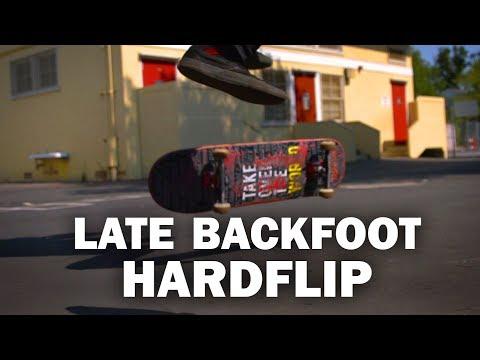 Late Backfoot Hardflip: Ryan Bracken || ShortSided