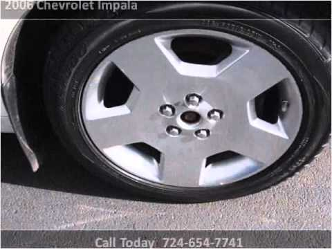 2006 Chevrolet Impala Used Cars New Castle PA