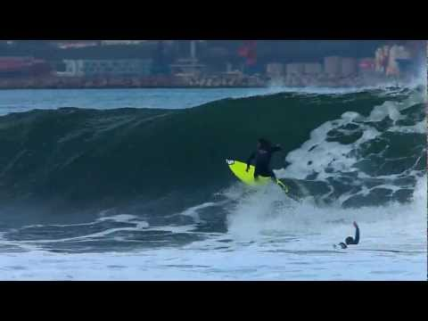 SURF en El Mongol - Gijón. HD VIDEO