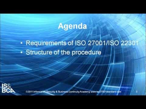 Introduction | How to Write ISO 27001/ISO 22301 Document Control Procedure