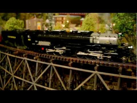 O gauge Lionel Legacy Vision  Train Layout By Patrick H