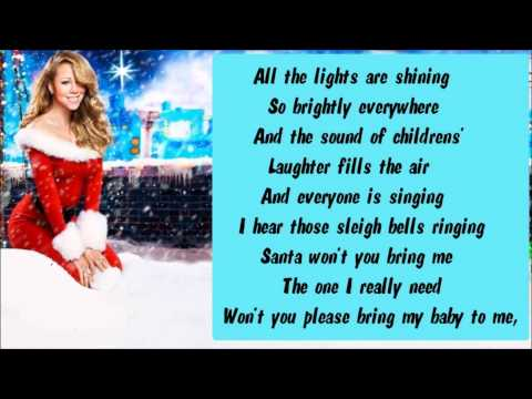 Mariah Carey - All I Want For Christmas Is You (Extra Festive) + Lyrics