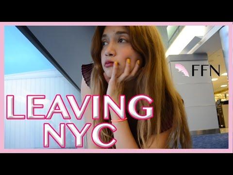 Leaving NYC - Hollywood Day 1| Fashion Fab News Vlog