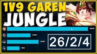 IS RIOT TROLLING US?? WHY CAN GAREN JUNGLE GET THIS FED?? GAREN JUNGLE GAMEPLAY! - League of Legends