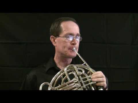 Part 1 Morceau de Concert French Horn Solo, Steve Park, Horn