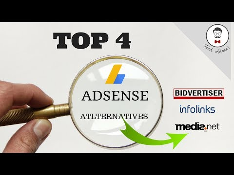 Top 4 Adsense Alternatives 2017   Best Paying Ad Networks than Adsense