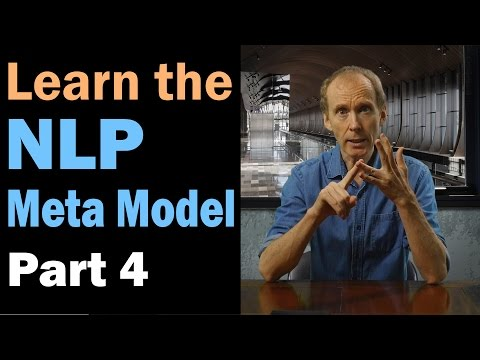 Learn the NLP Meta Model: Lost Performative. Part 4/12
