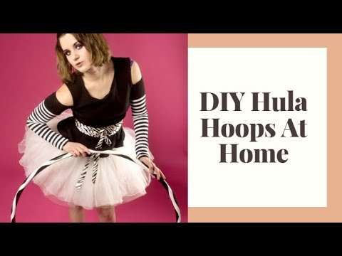 How To Make Hula Hoops And Travel Hoops video