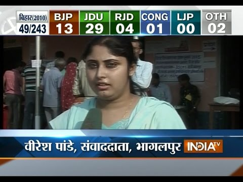 Bihar Election 2015: Watch Reactions of Voters of Bhagalpur amid Voting - India TV