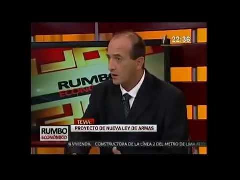 Juan Carlos Eguren- Presenta  Proyecto de Ley de Armas de Fuego