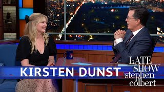 Kirsten Dunst was Like a 'Little Sister' to Brad Pitt and Tom Cruise