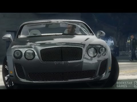 GTA 4 Bentley Continental SS !!  ENB series Extreme Graphics  [ Car mods + RealizmIV + VisualIV ]