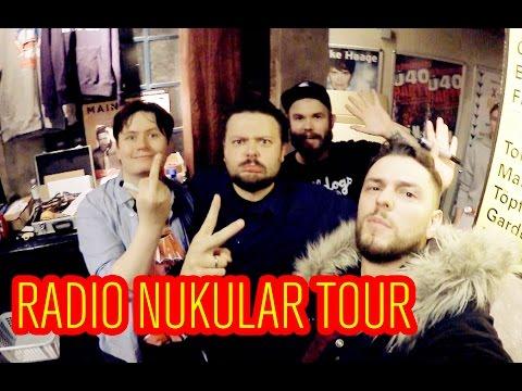 Radio Nukular live Tour Hamburg- Vlog