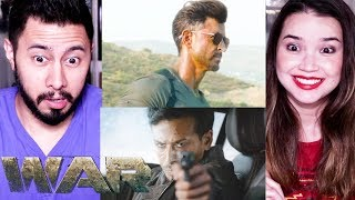 WAR   Hrithik Roshan   Tiger Shroff   Teaser Reaction by Jaby Koay!