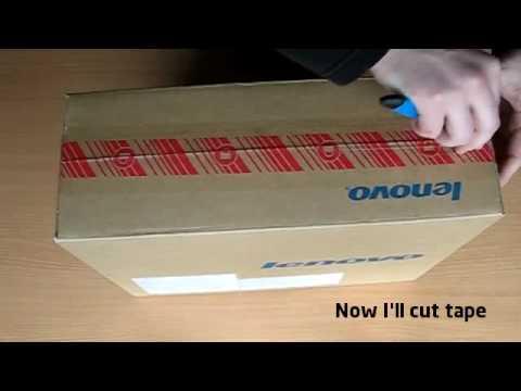 Lenovo 3000 N500 Unboxing