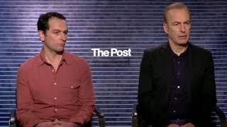 Bob Odenkirk Matthew Rhys interview The Post