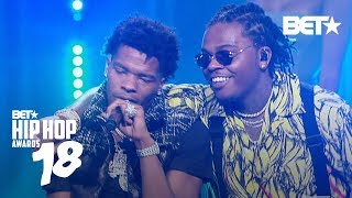 Lil Baby And Gunna 39 Drip Too Hard 39 During Their Performance Hip Hop Awards 2018