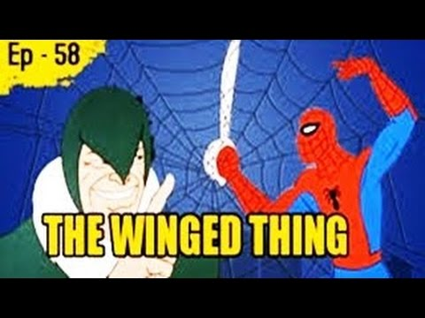 The Winged Thing - Episode 58 - Spider Man Animated Cartoon Series thumbnail