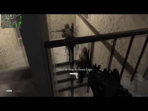 Call Of Duty 4 : Penetration - A Uzi Frag Video