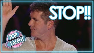 SIMON COWELL STOPS Auditions & Gives Them A 2nd Chance to Sing On GOT TALENT ! TOP TALENT 29.07 MB