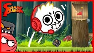 Red Ball 4 NINJA BLOCKS Let's Play with Combo Panda