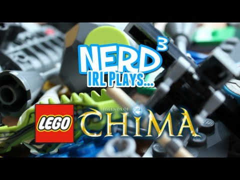 Nerd IRL Plays... Lego Chima Speedorz Chi Bowling
