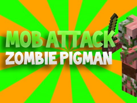Minecraft Mob Attack! - Zombie Pigman