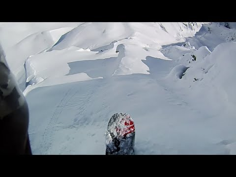 CONTOUR: Jeremy Jones Rides Spine Line while Filming for FURTHER POV