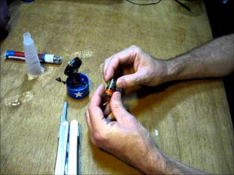 Take apart a solar garden light and see what useful parts ...