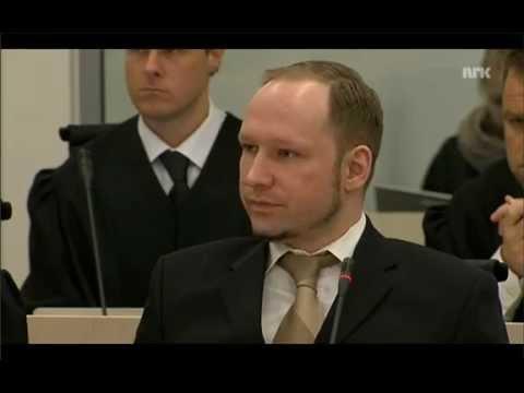 22/7 Rettsaken:Anders Behring Breivik presenterer seg