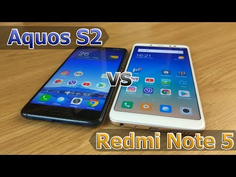 Сравнение  Sharp Aquos S2 vs Xiaomi Redmi Note 5