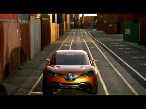 Renault - Captur concept car video clip
