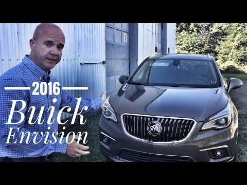 2016 Buick Envision Premium II road test and review | Pye Chevrolet Truro NS | Stock#16444
