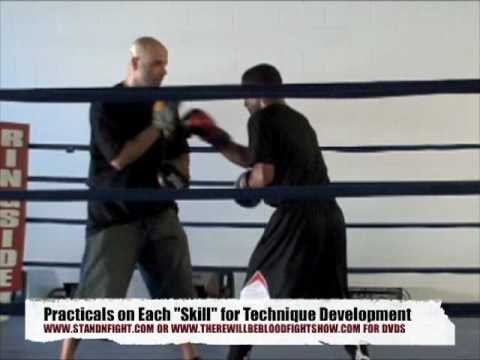 Coach Rick: Boxing Mittwork / Padwork / Mayweather Style Defensive Focus Mitt Training Image 1