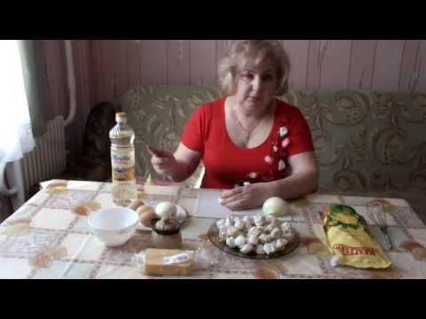 Как приготовить пельмени в духовке - видео