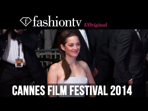 Marion Cotillard Film & Fashion Red Carpet, Cannes Film Festival 2014 | FashionTV