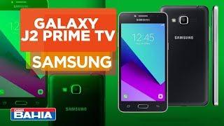 Smartphone Samsung Galaxy J2 Prime TV Preto | Casas Bahia