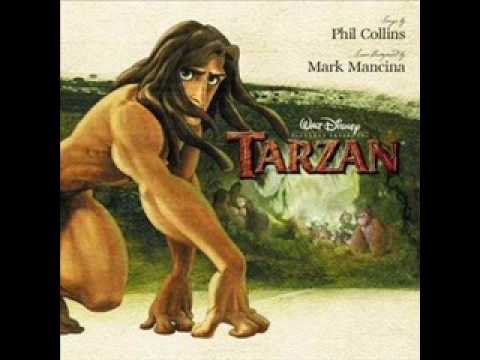 Tarzan Soundtrack- Two Worlds (Movie Version)
