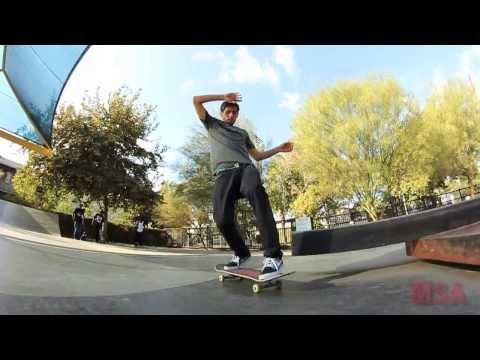 Danny Fuenzalida Skates Blythe Skatepark