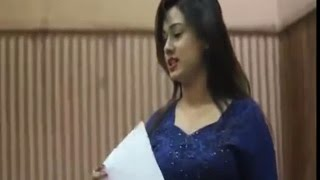 Bangladeshi Actress Bobby Dance Practice Behind the scenes
