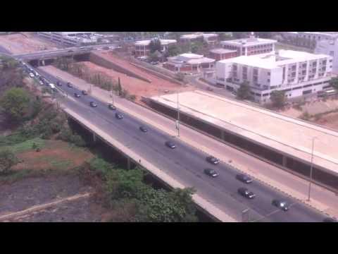 Nigerian President Goodluck Jonathan Convoy in Abuja