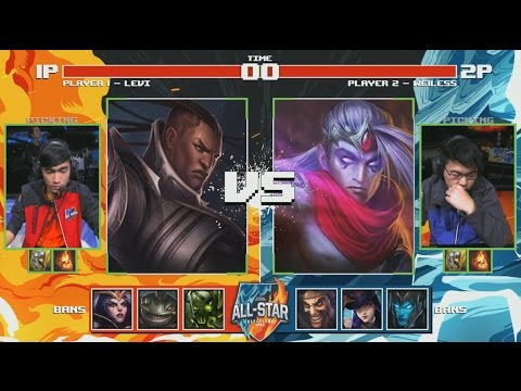 Levi Lucian VS We1less Varus (1 vs  1) - 2016 All-Star Day 3