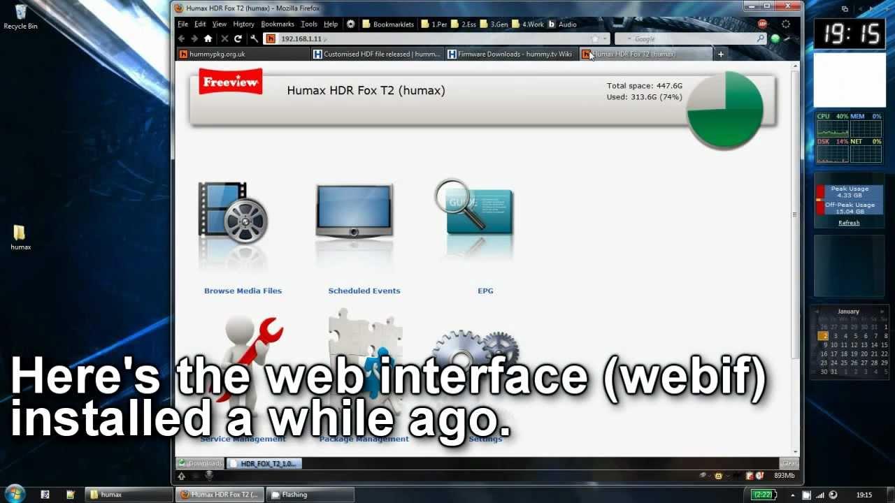 humax firmware: