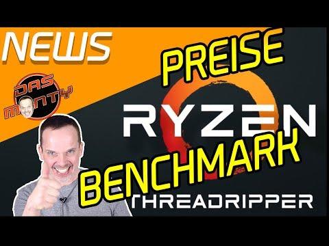 AMD RYZEN THREADRIPPER OFFIZIELLE Preise und Benchmarks VS Intel Core i9 7900X | Das Monty