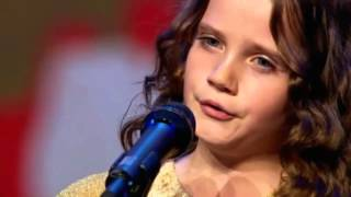 """Amira Willighagen"" (9) Holland's Got Talent Holland 2013"