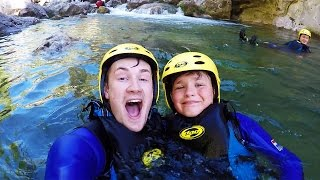 BROTHERS GO CANYONING
