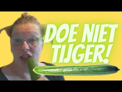 Doe niet tijger als je poessie bent #official