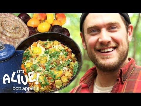 Brad Makes Campfire Breakfast | It's Alive | Bon Appétit