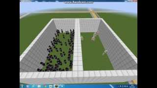 Minecraft 5 Iron Golems Vs 100 Witches